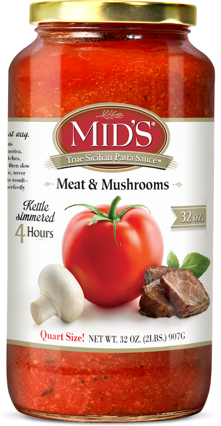 Meat and Mushrooms